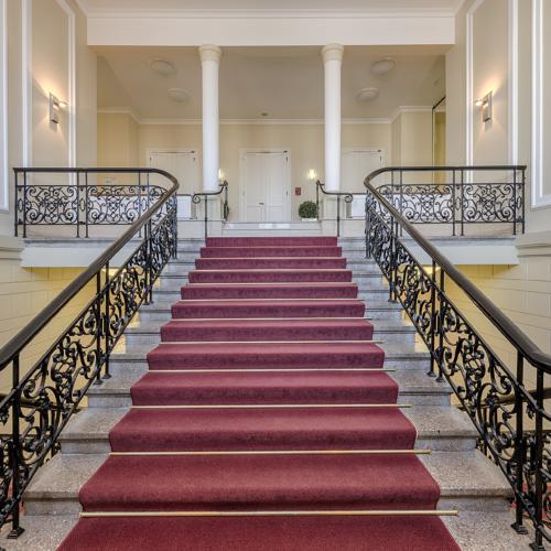 Haus Erholung - Treppenaufgang  (Foto: © G. Coscia)