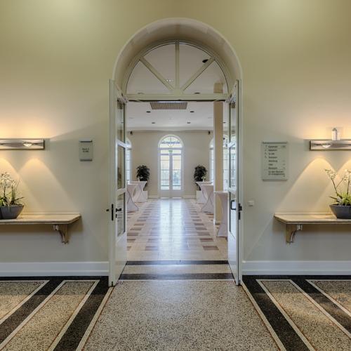 Haus Erholung - Konferenzraumeingang (Foto: © G. Coscia)